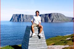 Knivskjellodden, Norway
